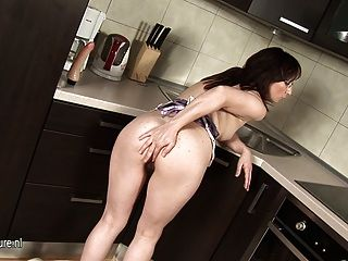 Mom-next-door Loves To Get Naughty In Her Kitchen