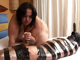 Bbw Latina Femdom Does Handjob And Facessitng