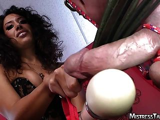 A Whole Lot Of Femdom Strapon Male Slave Torture
