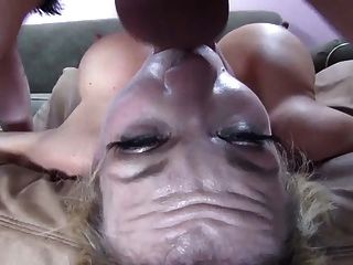 Hot Blonde With Big Tits Gets Her Mouth Fucked Dtd