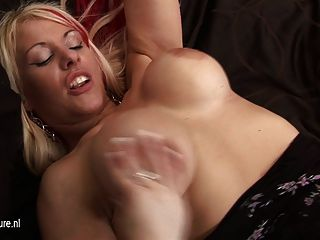 Hot Blonde Milf With Big Juicy Tits