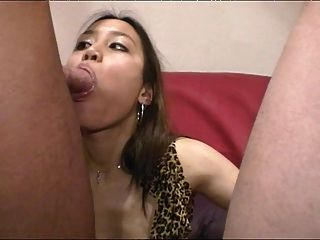 Hardocre Gangbang For A Cute Asian Girl