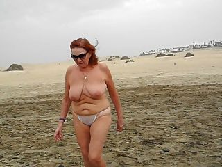 A Walk On The Beach Of Maspalomas