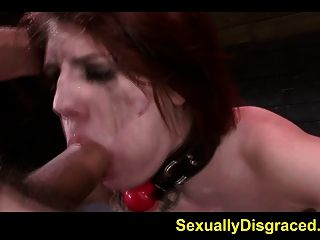 Neck Collared Slave Velma Dearmond Fucked Hard By A Big Cock