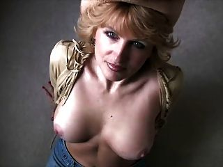 Hot Milf In Cowboy Hat Sucks Him Off
