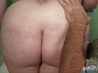 Bbw Scarlett Raven Gets Her Shaved Pussy Filled