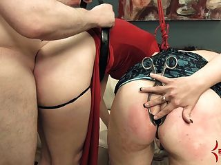 Extreme Ass To Mouth & Atogm For Nasty Bondage Sluts