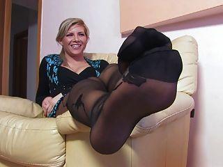Nice Woman Nice Nylonfeet 24