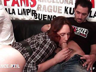 Emy Jolie Rousse Prise En Double Penetration