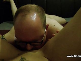 German Amateur Teen Get Anal Fuck By Old Men Homemade