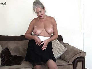 Superb Granny With Amazing Body