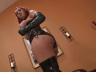 Big Tits Leather Pov