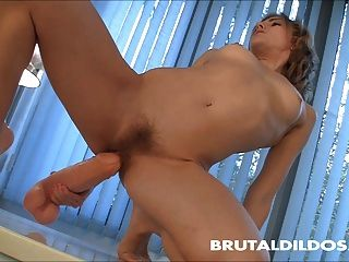 Insane dildo plunger insertion movies