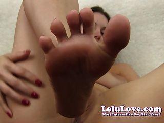 Lelu Love-small Penis Humiliation Toe Fucking