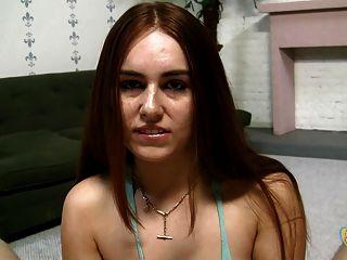 Kiki Vidis - Sweet Redhead Gives A Pov Handjob