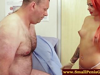 Sph Small Cock Dude Gets Handjob