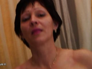 Hot Mature Mother Playing With Herself