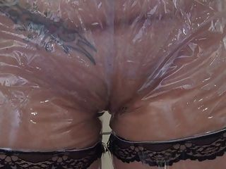 Dirty Girl Pvc Panty Wetting