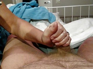 Wife Giving Me A Nice Handjob