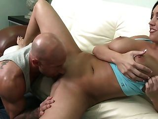 Guy Fucks Big Titted Milf