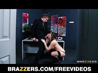 Chanel Preston Helps Her Ceo Get Off While At Work