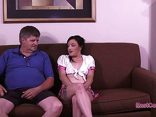 Evie Thalia - Old Cock In My Ass!