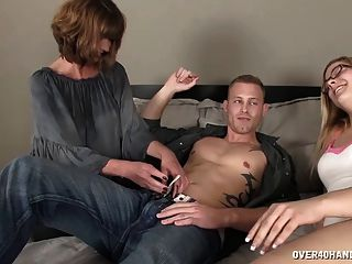 Sexy Mom Sucks A Dick In Front Of Not Her Daughter