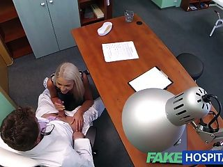 Fakehospital Doctors Sexy Blonde Ovulating Wife