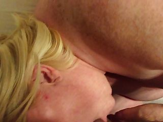 My Bbw Slut Sucks My Cock And Gets A Creampie Part 1