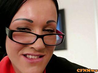 Three Office Cfnm Femdom Sluts Wanking