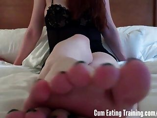 Cei Dont You Want To Cum All Over My Feet
