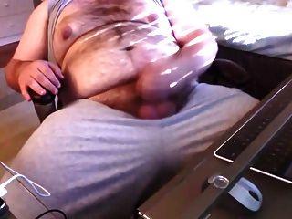Chub First Jack Off Vid Big Cum Shot!
