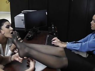 Worship Feet To Apply For A New Job!