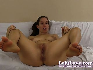 Lelu Love-naked Virtual Footjob Joe