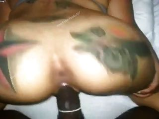 Tattoo Ass Bouncing Doggy Style On Bbc