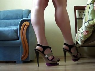 Batmannu & Sexy High Heels!
