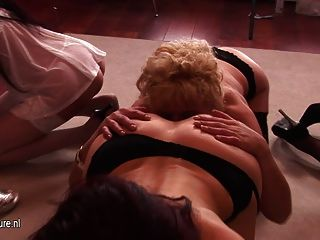 Special All Lesbian Old And Young Sexparty