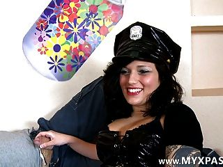 Big Fine For A Sexy Cop