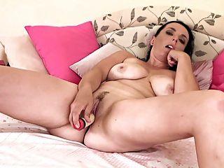 Mature Lady Masturbates Slowly 2