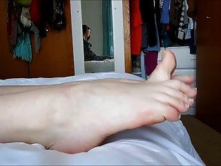 Young Feet And Natural Nails
