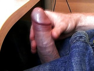 Massive Cumshot At Work