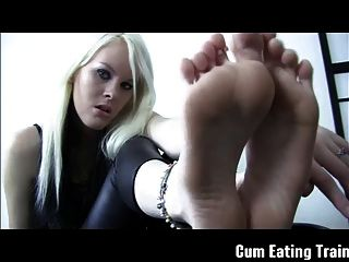 Cei Making You Eat Your Own Cum