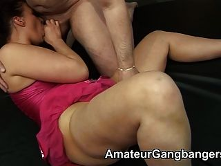 Mandy & Slapper Friend Take A Fucking
