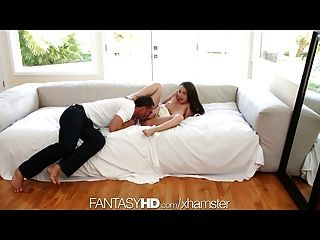 Fantasyhd Guy Uses Vibrator To Make Teen Girl Orgasm