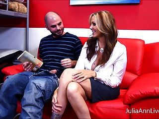 Hot Tutor!? Milf Julia Ann Makes Student Study Hard!