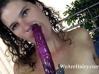 Sunshine Masturbates With Her Sexy Purple Vibrator