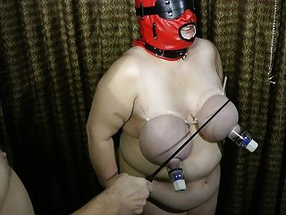 Warming Up The Udders At The Start Of Bdsm Sex Party