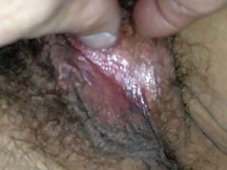 Opening Her Pussy