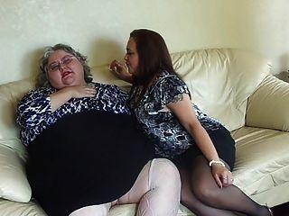 2 Bbw Lesbians