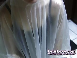 Lelu Love-poncho Condom Blowjob
